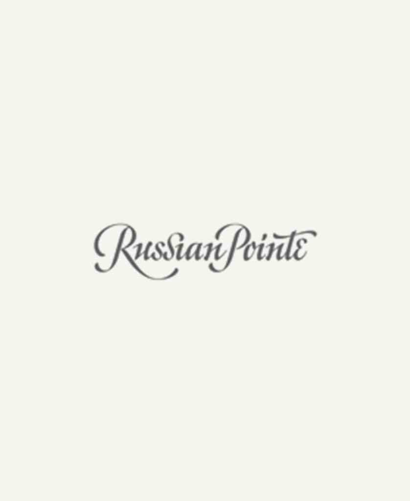 Logo der Spitzenschuhmarke Russian Pointe
