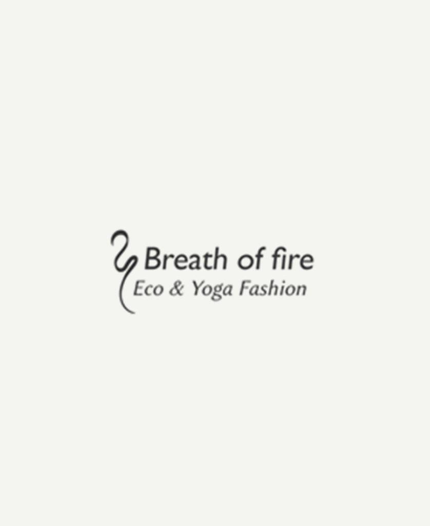 Logo der Yogabekleidung Breath Of Fire